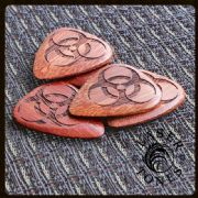 Laser Tones - Biohazard - 4 Guitar Picks | Timber Tones